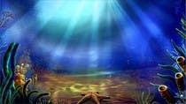 Illustration Kilpailutyö #6 kilpailuun under sea background