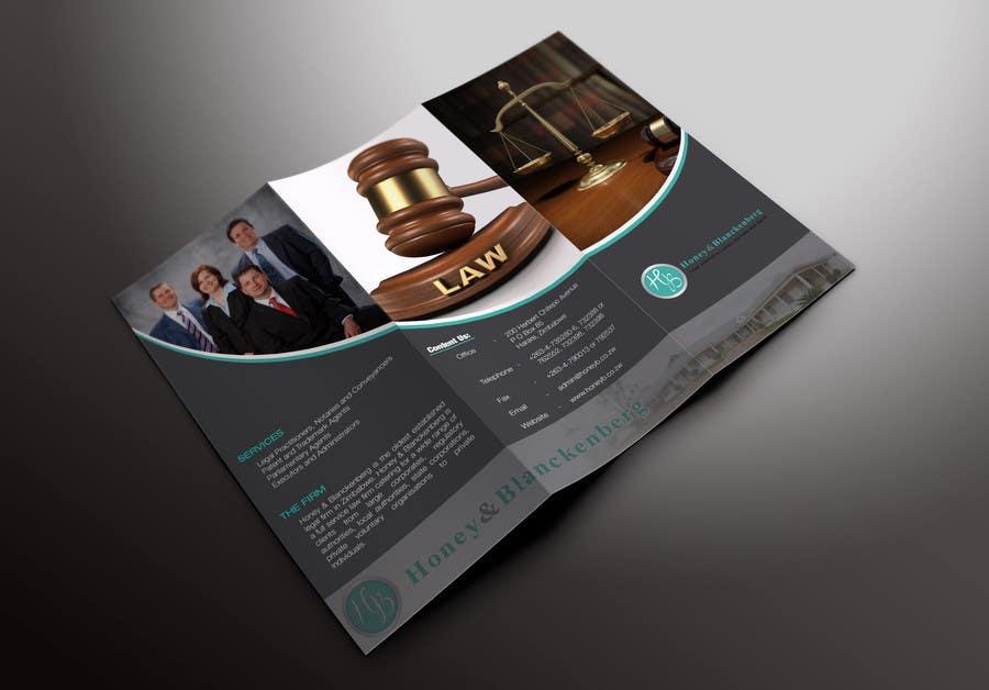 Konkurrenceindlæg #15 for urgent Trifold Brochure needed.