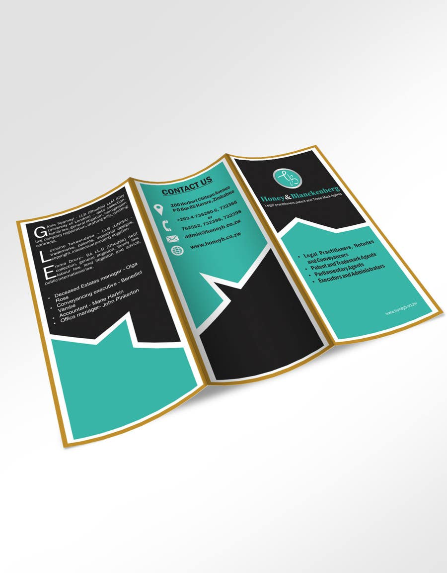 Contest Entry #1 for urgent Trifold Brochure needed.
