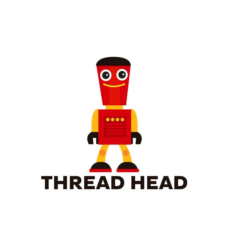 Proposition n°                                        79                                      du concours                                         Character design for Thread Head Company mascots