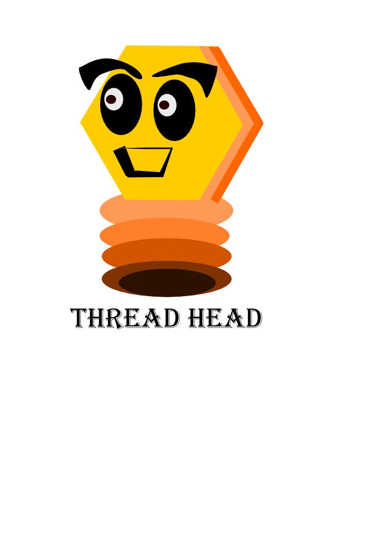Proposition n°                                        75                                      du concours                                         Character design for Thread Head Company mascots