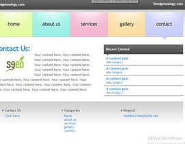 emanuelebertuzzi tarafından Build a Website for Seed Genealogy için no 1