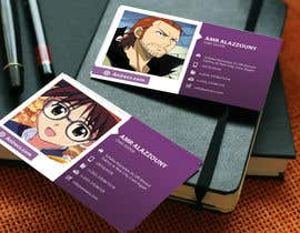 #23 for Design some Business Cards for anime site by logodesigingpk