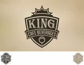 #152 for Design a Logo for King Cafe Beverages by arisabd
