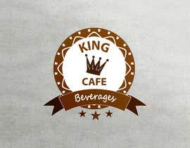 #99 untuk Design a Logo for King Cafe Beverages oleh runoyumi