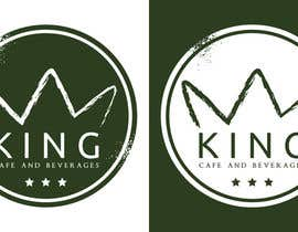 #91 untuk Design a Logo for King Cafe Beverages oleh cbarberiu
