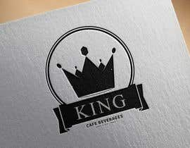 #95 untuk Design a Logo for King Cafe Beverages oleh rakz89