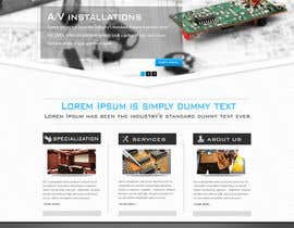 #24 untuk Build a Website for new electrical/electronic contractor oleh peaceonweb