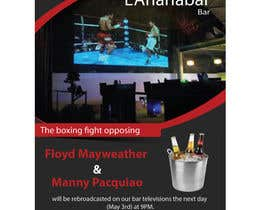 #10 for Boxing event flyer af igraphicdesigner