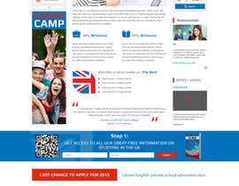 #6 for Design a homepage for an educational company af conceptrecall