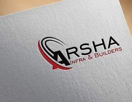 """stojicicsrdjan tarafından Design a Logo for """"Arsh Infra & Builders"""" için no 20"""