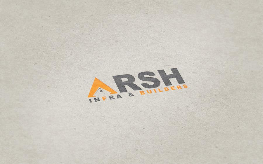 "Konkurrenceindlæg #81 for Design a Logo for ""Arsh Infra & Builders"""