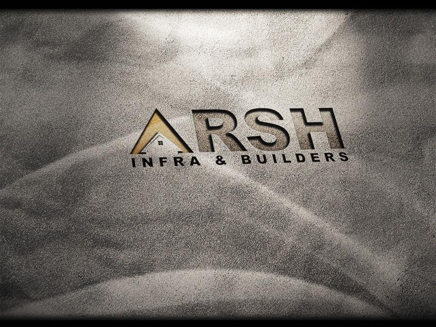 """Konkurrenceindlæg #83 for Design a Logo for """"Arsh Infra & Builders"""""""