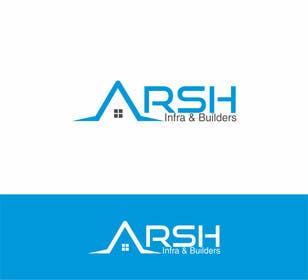 """Nro 75 kilpailuun Design a Logo for """"Arsh Infra & Builders"""" käyttäjältä eltorozzz"""