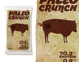 #2 cho Snack food packaging bag design front. bởi joselord