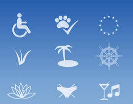 #4 para Design 15 Icons for a beach website por vstankovic5