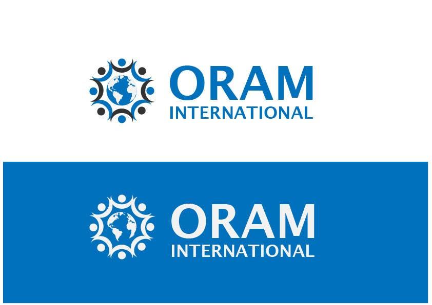 Proposition n°                                        61                                      du concours                                         Design a Logo for ORAM International