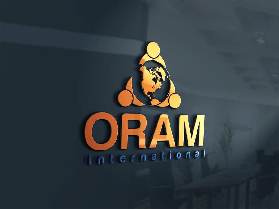 Proposition n°                                        1                                      du concours                                         Design a Logo for ORAM International