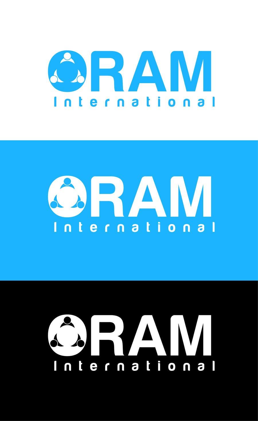Proposition n°                                        21                                      du concours                                         Design a Logo for ORAM International