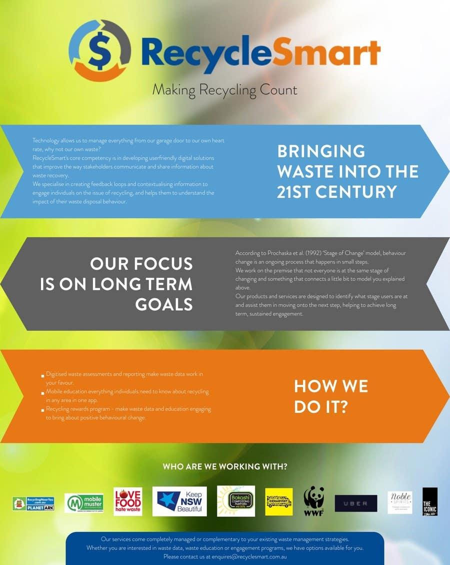 Penyertaan Peraduan #7 untuk Develop a Corporate Identity for eco-start up
