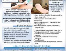 #5 cho Diseño folleto Diptico Consulta Medica de Dermatología bởi daveguevara