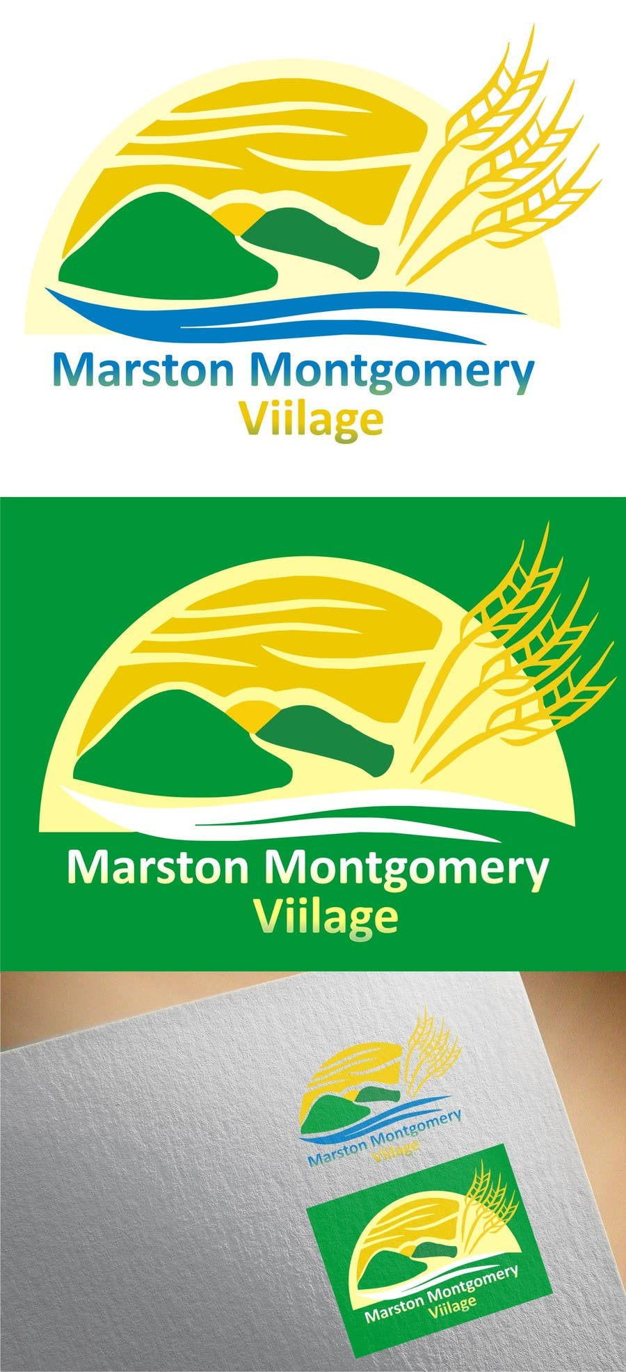 Contest Entry #                                        7                                      for                                         Design a Logo for Marston Montgomery Village Website