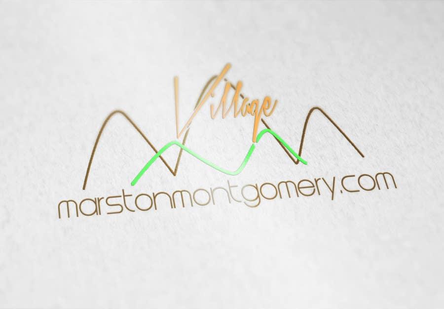 Konkurrenceindlæg #10 for Design a Logo for Marston Montgomery Village Website