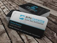 Graphic Design Konkurrenceindlæg #49 for Design some Business Cards for All Pro Contracting