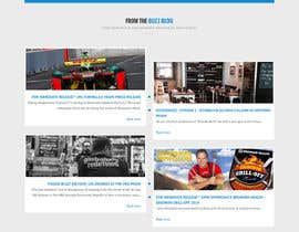 #5 for Design a Website Mockup for SocialBuzzTV.com by huythong91