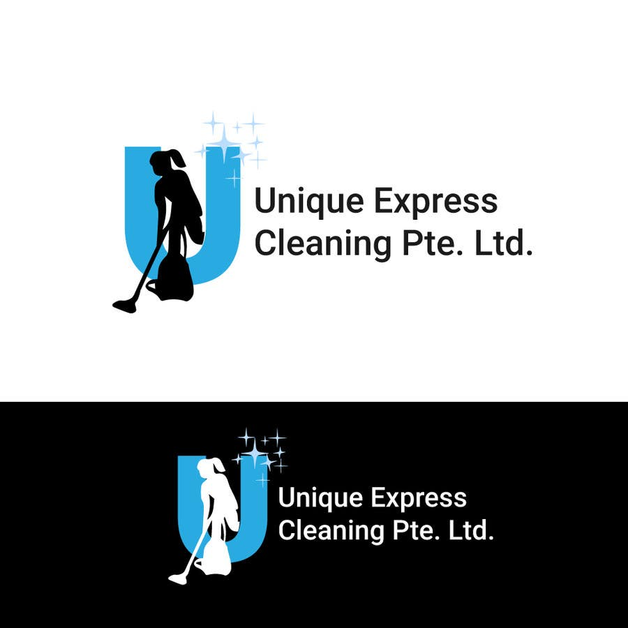 Konkurrenceindlæg #                                        7                                      for                                         Design a Logo for UNIQUE EXPRESS CLEANING PTE. LTD.,