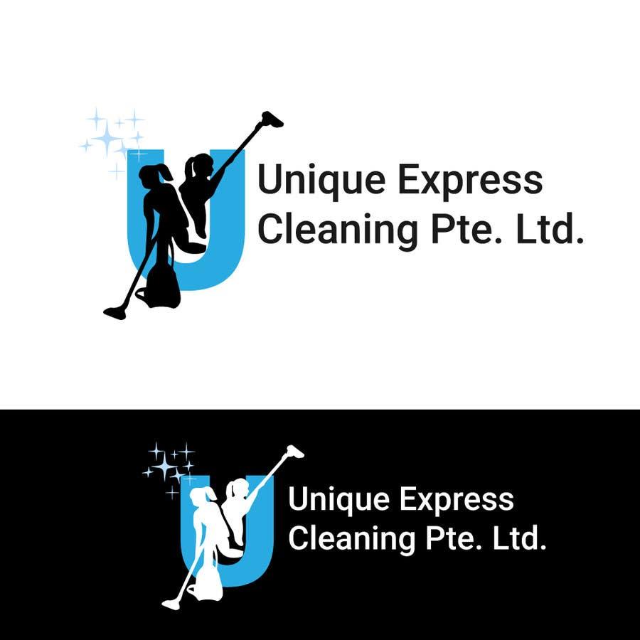 Konkurrenceindlæg #                                        13                                      for                                         Design a Logo for UNIQUE EXPRESS CLEANING PTE. LTD.,