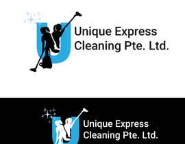 #13 untuk Design a Logo for UNIQUE EXPRESS CLEANING PTE. LTD., oleh robertlopezjr