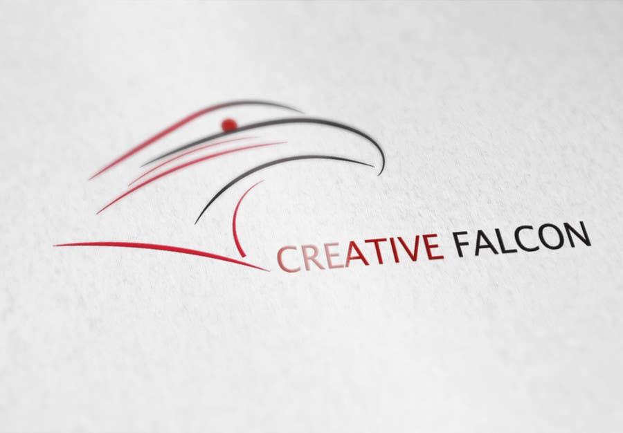 Proposition n°                                        52                                      du concours                                         Design a Logo for Creative Falcon
