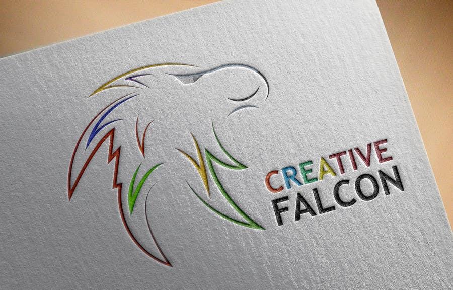 Proposition n°                                        68                                      du concours                                         Design a Logo for Creative Falcon