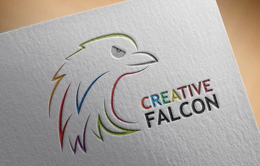 Proposition n°                                        73                                      du concours                                         Design a Logo for Creative Falcon