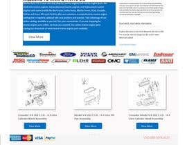 #10 for Design a Website Mockup for Marine Parts U.S. af talhafarooque