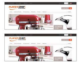 nº 78 pour Design a Logo for Planet Chef par alfonself2012