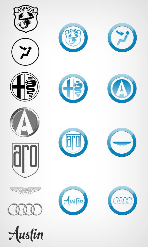 Konkurrenceindlæg #3 for Design some Icons for Vehicle Icons designs