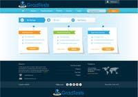 Graphic Design Inscrição do Concurso Nº26 para Design a Website Mockup for Practice IQ Test Business