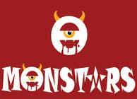 Illustrate Something for Monsters için Graphic Design43 No.lu Yarışma Girdisi