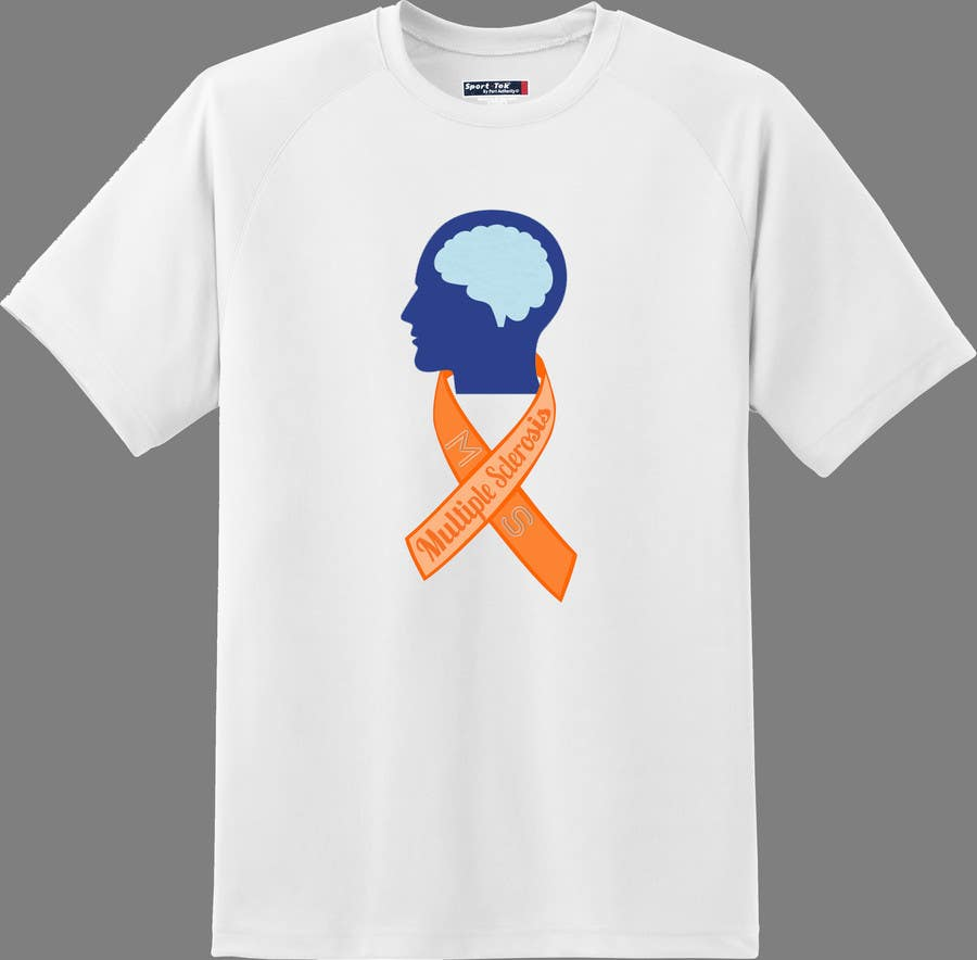 Contest Entry #                                        9                                      for                                         Design a T-Shirt for MS Awareness