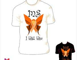 #14 para Design a T-Shirt for MS Awareness por sergiocossa