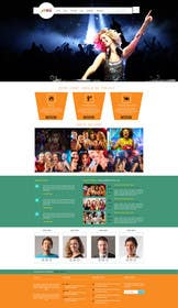 #6 cho Design a Website Mockup for Entertainment Industry bởi logodesire