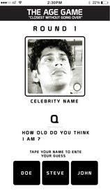 #8 untuk Design an App Mockup for Age Game oleh jarasaleem