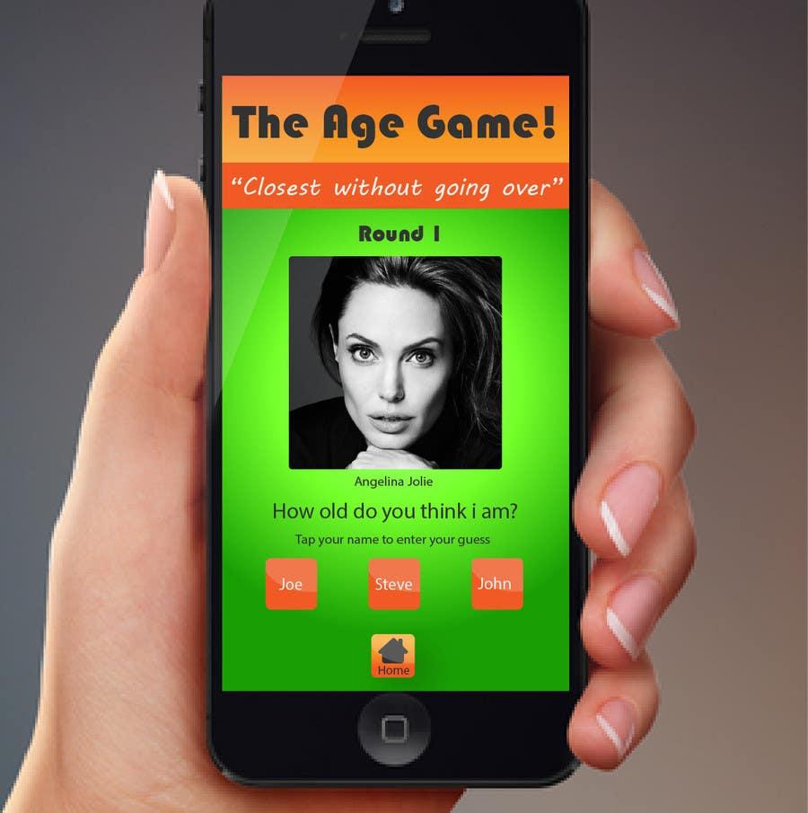 Konkurrenceindlæg #                                        3                                      for                                         Design an App Mockup for Age Game