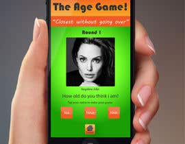 #3 for Design an App Mockup for Age Game af jessebauman