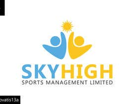 #32 untuk Design a Logo for Skyhigh Sports Management Limited oleh Renovatis13a