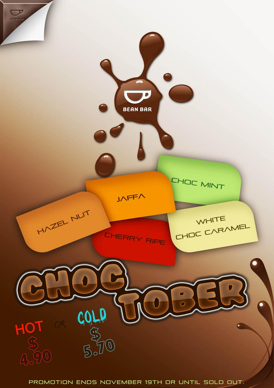Poster design 99 - Contest Entry 99 For Poster Design For A Chocolate Promotion