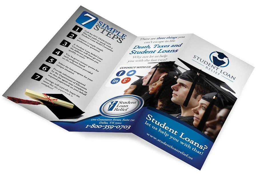 Bài tham dự cuộc thi #                                        27                                      cho                                         Create a Brochure Student Loan Relief, Inc