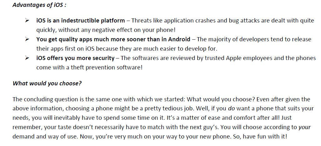 Contest Entry #                                        4                                      for                                         Mobile APP Review Contest - (IOS Or ANDROID Device)